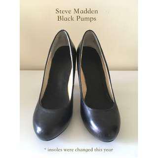 Black Steve Madden Pumps US 5