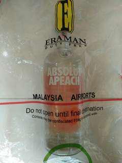 Absolut Apeach Vodka 1 Liter Import Original
