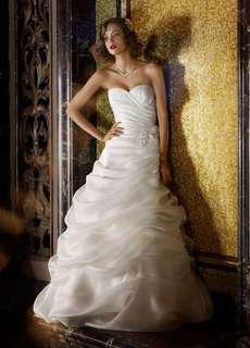 Wedding Dress - Organza
