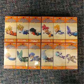 日版 WCF 龍珠 30周年 Vol.3 & 5