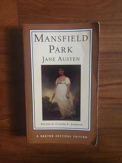 Jane Austen - Mansfield Park (Norton Critical Editions, 1998)