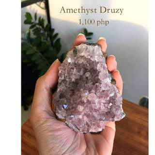 Amethyst Crystal Druzy / Cluster