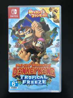 Switch Game Donkey kong 99% new