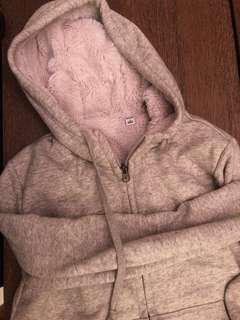 Uniqlo fleece lined hoodie
