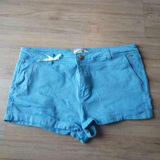 Brand new baby blue shorts