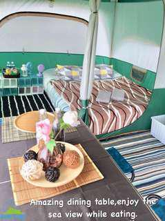 Wowcamp tent/glamping/party/birthday booking service