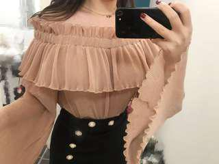 Alice McCall pink top