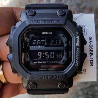 🚚 HURRY! LAST 5-SETS in BEST🌟SELLING GKING GSHOCK 200M DIVER SPORTS WATCH : 1-YEAR OFFICIAL AGENT WARRANTY : 100% ORIGINAL AUTHENTIC G-SHOCK RESISTANT Best For Most Rough Users: GX-56BB-1DR / GX56BB / GX-56 / GX56 / G-KING / CASIO / GSHOCK