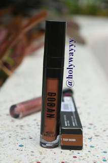 Goban Matte Liquid Lipstick Teddy Brown