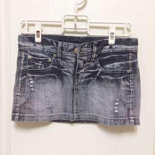 韓國🇰🇷牛仔/單寧短裙#九月女裝半價