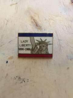 Vintage Statue of Liberty 100 Anniversary Pin circa1986
