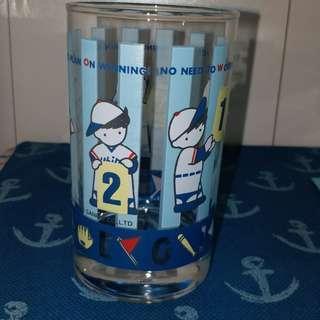 sanrio 棒球仔 gimme five 玻璃杯