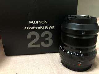 Fujinon XF23 F2 WR