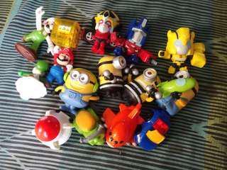 Mcdonalds Assorted Toys