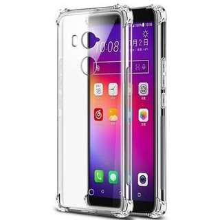 🚚 HTC U11 Super Protection Clear Silicon Case
