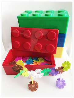 Children's day party packs - LEGO shaped