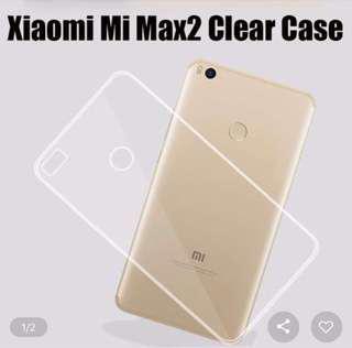 🚚 Xiaomi Max 2 Clear TPU Silicone Case Casing