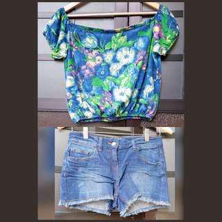 Mix & match summer outfit