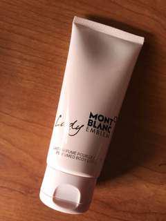 🚚 BNIP Mont Blanc Emblem Lady Body Lotion 100ml