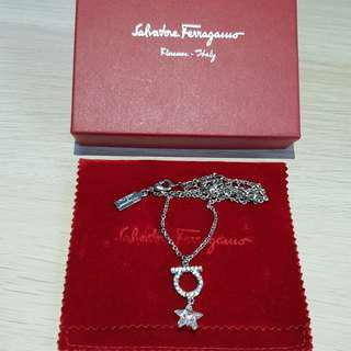 Salvatore Ferragamo Necklace w Star Pendant
