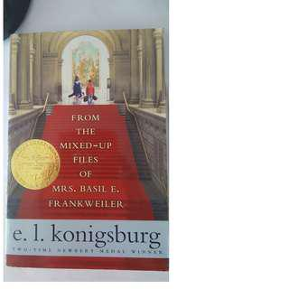 GEP ERP book - from the mixed-up files of mrs. Basil e. Frankweiler by e.l. konigsburg