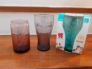 Mcdonald cola glass