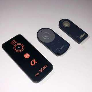 Remote Control for Nikon, Canon and Sony (Free postage)