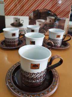 Demitasse Coffee Set - set of 5