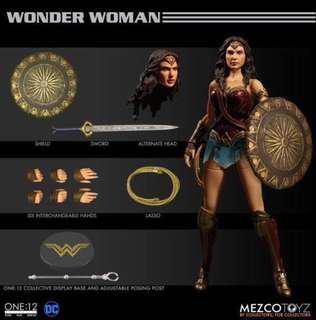 Order mezco wonder woman