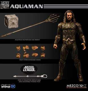 Order Justice League Mezco Aquaman Aqua Man
