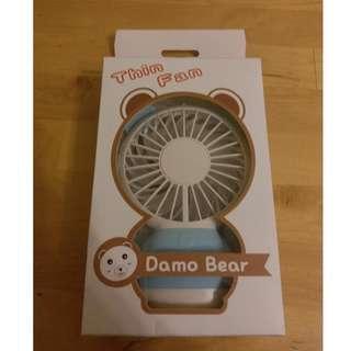 Damo Bear 手提風扇 (100% 全新)