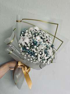 ☁️ Cotton bouquet // Rustic bouquet // Surprise bouquet 💦