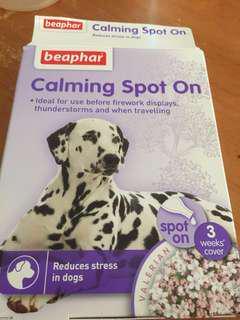 Calming spot on 舒緩狗隻緊張滴劑x2支