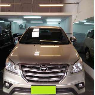 Toyota Kijang INNOVA G Automatic 2014 TDP 25 JT Saja gan