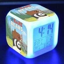 *Preorder* We Bare Bears LED alarm clock