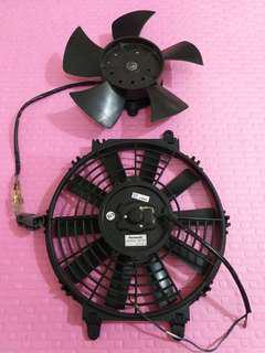 Proton Iswara -AirConCoil -Fan 1 pair Inner and Outer Coil