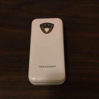 100% 全新韓國製造 Tekcomm 2.1A LG電3000mAh 流動電源 #滄海遺珠