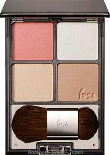 ipsa face colour designing palette