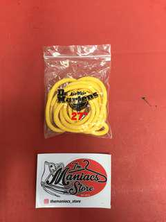 Dr martens laces yellow