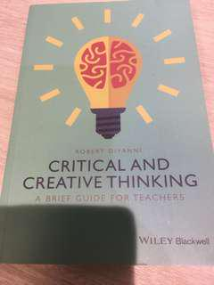 Critical and creative thinking (a brief guide for teachers)