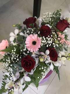 ROM/ ROMM TABLE FLOWERS
