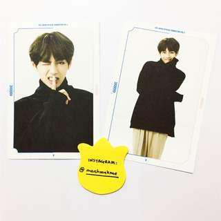 RARE BTS Japan 3rd Fanmeeting Vol. 3 Postcard V TAEHYUNG
