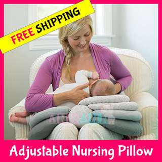 ★CHEAPEST★FREE COURIER DELIVERY+GIFT★Adjustable Nursing Pillow★Compact Comfortable Elevated Baby Mummy Maternity Support★Feeding Breastfeeding Breastfeed Sleep