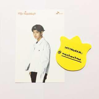 BTS x SK Telecom Official Postcard V TAEHYUNG
