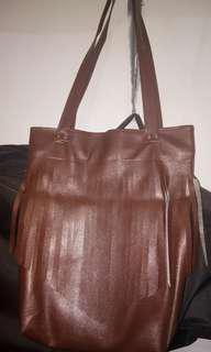 Tas brown vintage