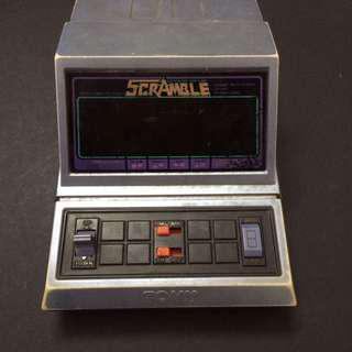 Vintage 80s tabletop game Scramble Tomy/Konami