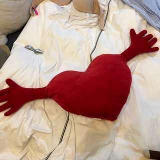 Ikea Heart Shaped Pillow