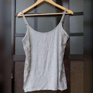 Abercrombie & Fitch tank top with lace detail