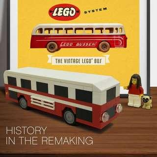 WTS/WTT Lego Classic Wooden Bus
