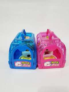 Cute pet cage toy